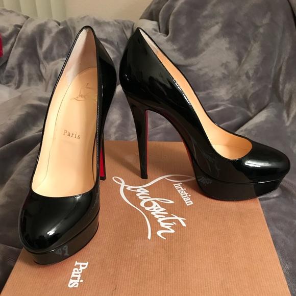 2ad0895a37 Christian Louboutin Shoes - Christian Louboutin Bianca 140 Black 6.0 36  Pumps